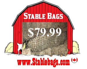 Open 2 ends, Horizontal Hanging Bale Bag $79.99