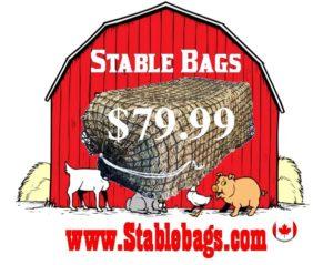 Open 1 end, Single Bale Bag $79.99