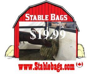 Small Livestock, Stall or Trailer Bag $19.99